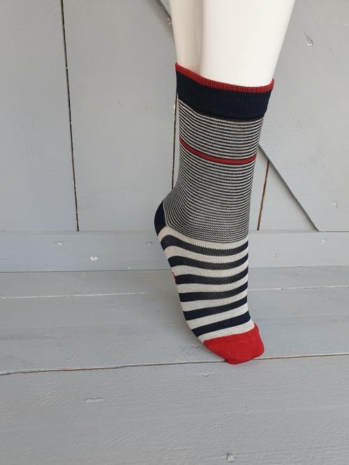 Chaussettes Fantaisie - Berthe aux grands pieds - Rayures
