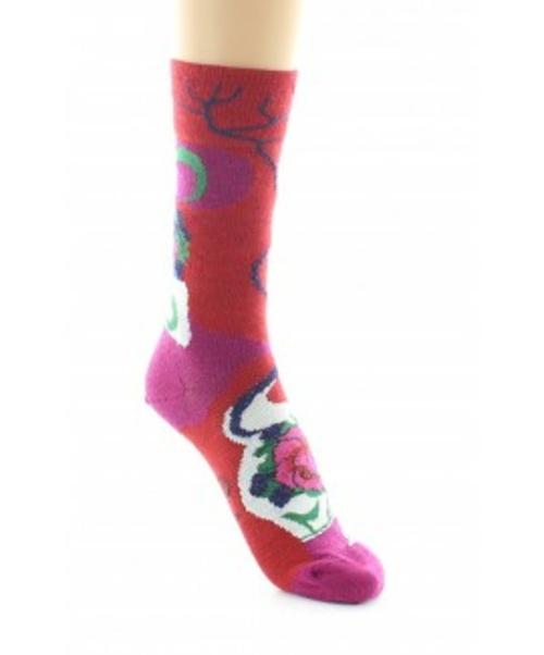 Chaussettes Fantaisie - Berthe aux grands pieds - Rose