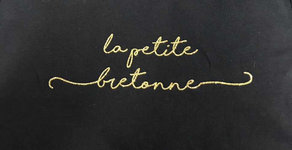 Tee-shirt en coton bio - Anouk & Ninon - ''''La petite bretonne'''' 126884223794084474719188159584239964410045n