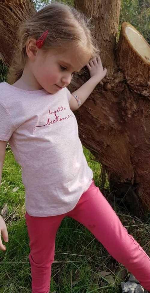 Tee-shirt en coton bio - Anouk & Ninon - ''''La petite bretonne'''' pauline