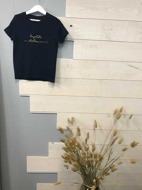 Tee-shirt en coton bio - Anouk & Ninon - ''''La petite bretonne'''' 0